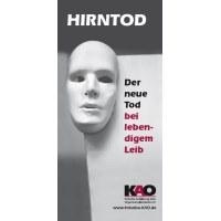 Bild KAO-Faltblatt Hirntod